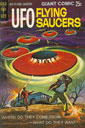 UFO Flying Saucer Comic (1968)